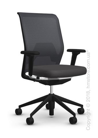 Кресло Vitra ID Mesh Nero, Plano Dark Grey