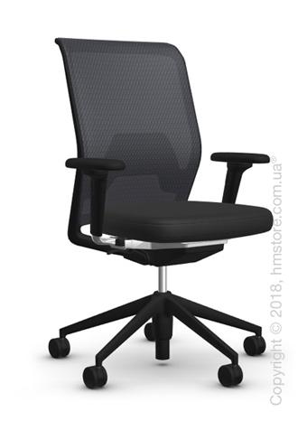 Кресло Vitra ID Mesh Nero, Plano Nero