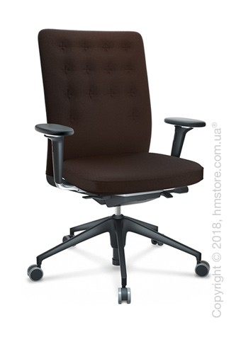 Кресло Vitra ID Trim, Plano Brown