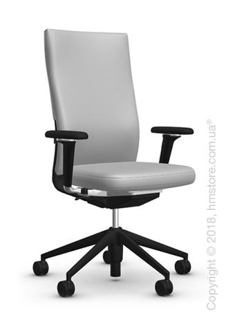 Кресло Vitra ID Soft L, Silk Mesh Soft Grey