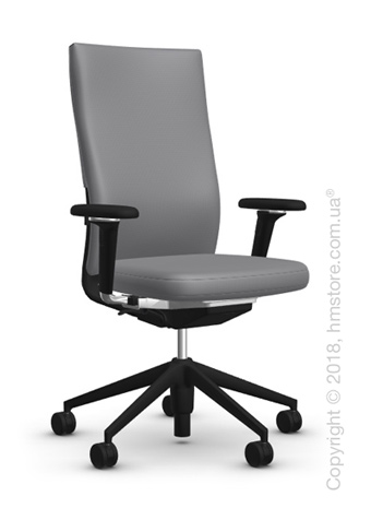 Кресло Vitra ID Soft L, Silk Mesh Dim Grey