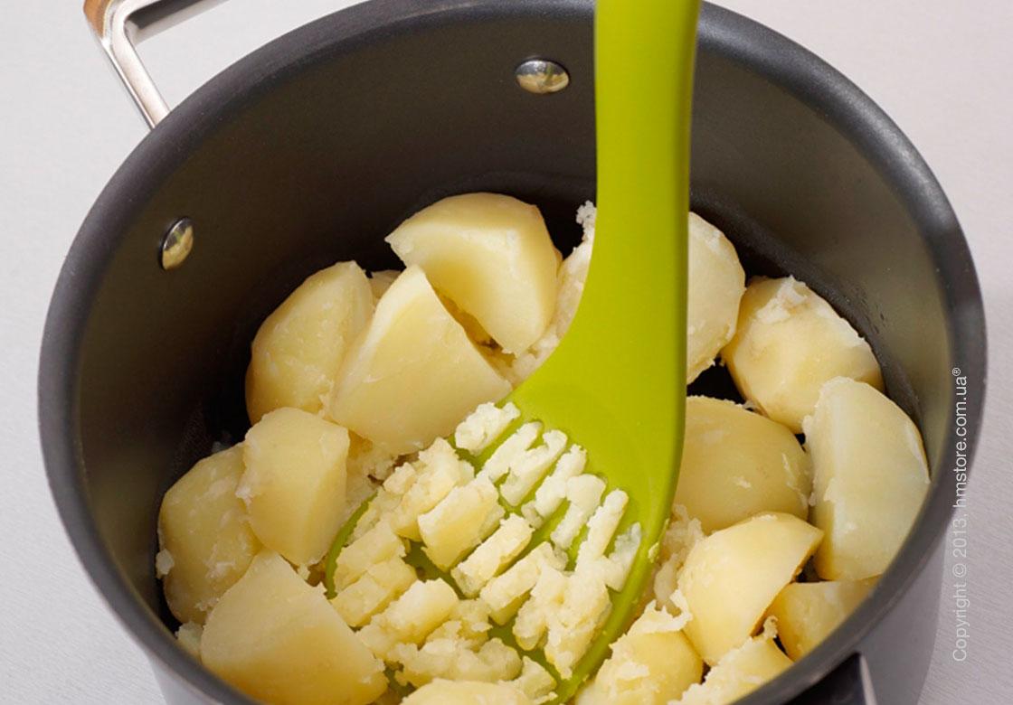 Пресс для картофеля Joseph Joseph Mash & Serve, Зеленый