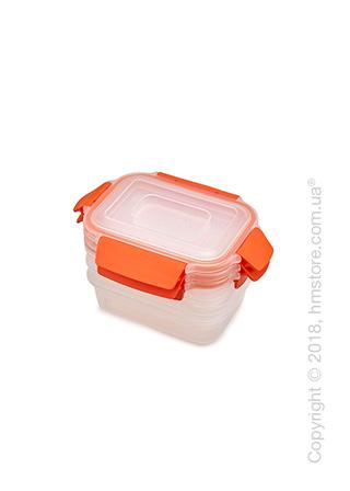 Набор контейнеров для хранения Joseph Joseph Nest Lock Same-Size Orange, 3 предмета