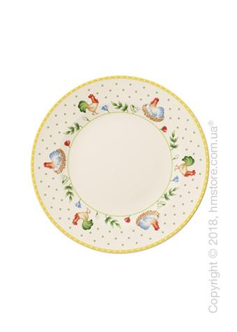 Тарелка десертная мелкая Villeroy & Boch коллекция Spring Awakening Hen, 22 см