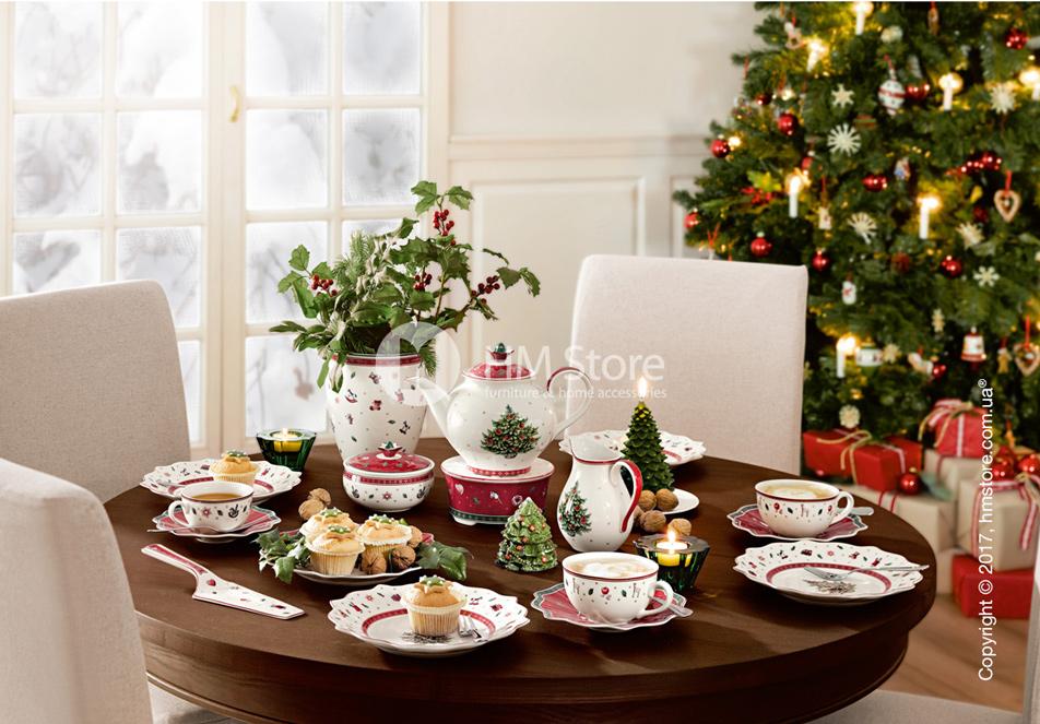 купить рождественскую посуду