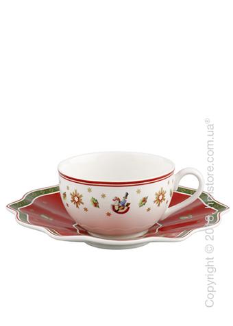 Чашка с блюдцем Villeroy & Boch коллекция Toy's Delight, 200 мл, Red