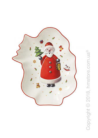 Блюдо для подачи Villeroy & Boch коллекция Toy's Delight, 24х19,5 см, Santa