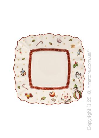 Тарелка пирожковая Villeroy & Boch коллекция Toy's Delight, 17х17 см