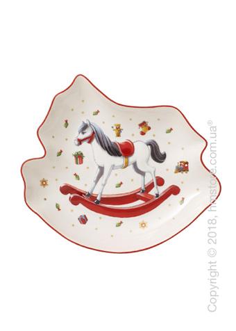 Блюдо для подачи Villeroy & Boch коллекция Toy's Delight, 24,5х22 см, Rocking Horse