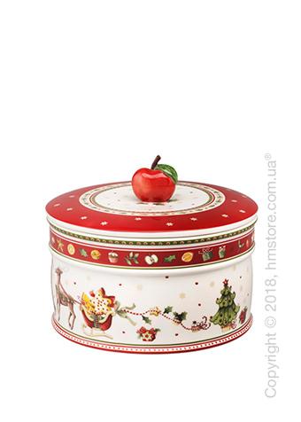 Емкость для хранения Villeroy & Boch коллекция Winter Bakery Delight, 1,74 л