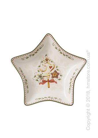 Блюдо Villeroy & Boch коллекция Winter Bakery Delight Star, 13 см
