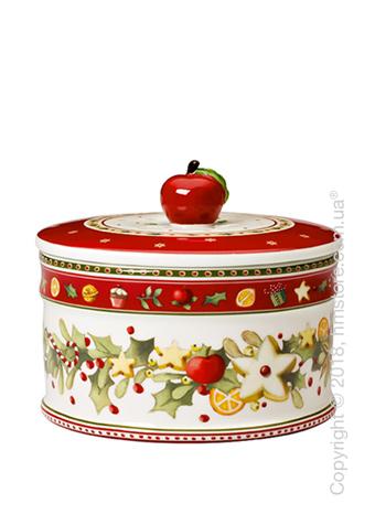 Емкость для хранения Villeroy & Boch коллекция Winter Bakery Delight, 860 мл