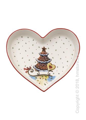 Блюдо Villeroy & Boch коллекция Winter Bakery Delight, 19х25,5 см