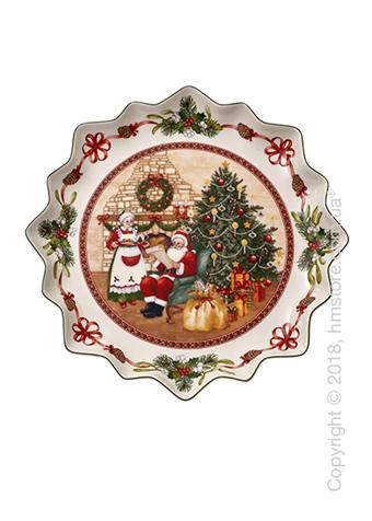 Блюдо для подачи Villeroy & Boch коллекция Toy's Fantasy, 39 см, Santa's Home
