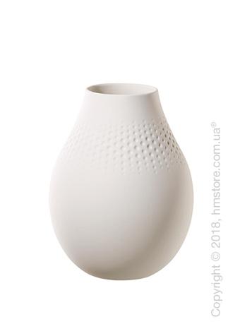 Ваза Villeroy & Boch коллекция Collier Perle, 20 см, White