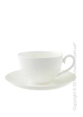 Чашка с блюдцем Villeroy & Boch коллекция Royal, 400 мл