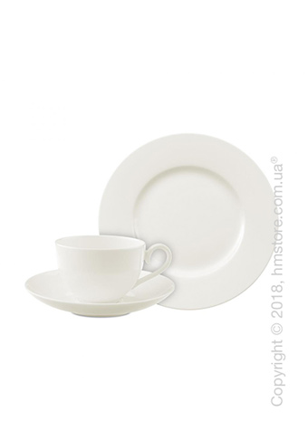 Набор фарфоровой посуды Villeroy & Boch коллекция Royal на 6 персон, 18 предметов