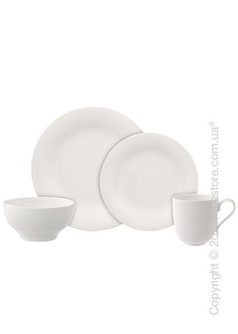 Набор фарфоровой посуды Villeroy & Boch коллекция New Cottage Basic на 2 персоны, 8 предметов