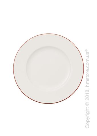 Тарелка пирожковая Villeroy & Boch коллекция Anmut Rosewood, 16 см