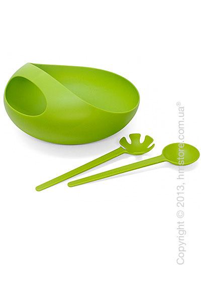Салатница Joseph Joseph Salad Bowl & Servers, Зеленая