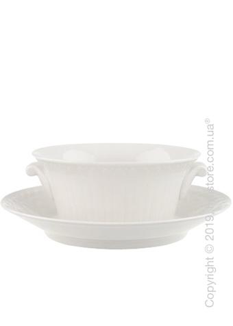 Чаша бульонная с блюдцем Villeroy & Boch коллекция Cellini, 400 мл