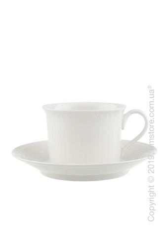 Чашка с блюдцем Villeroy & Boch коллекция Cellini, 350 мл
