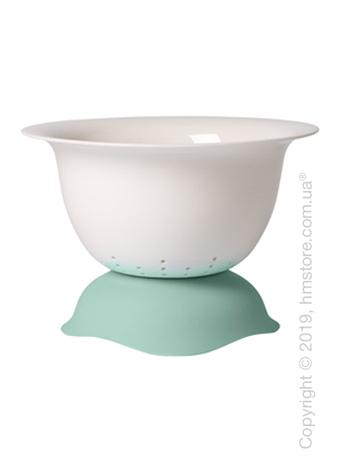 Дуршлаг/блюдо для подачи Villeroy & Boch коллекция Clever Cooking, 29 см, Green