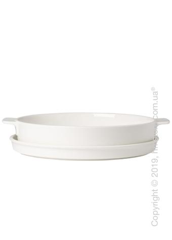 Форма для выпечки фарфоровая Villeroy & Boch коллекция Clever Cooking, 28 см