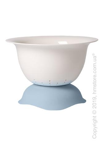 Дуршлаг/блюдо для подачи Villeroy & Boch коллекция Clever Cooking, 29 см, Blue