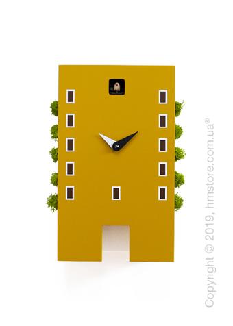 Часы Progetti Urban Cuckoo Clock, Mustard