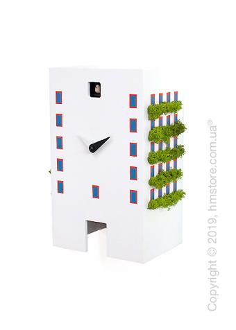 Часы Progetti Urban Cuckoo Clock, White
