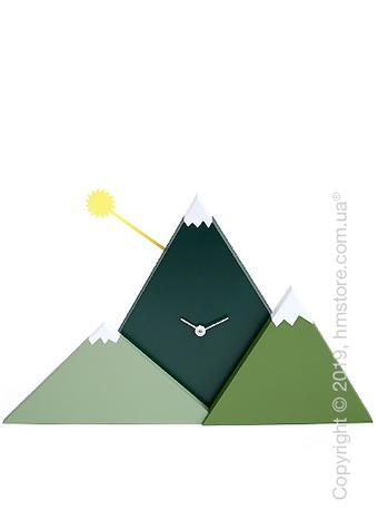 Часы настенные Progetti Sunset Wall Clock, Green