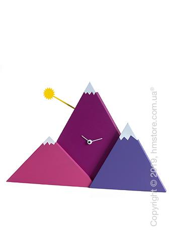 Часы настенные Progetti Sunset Wall Clock, Purple
