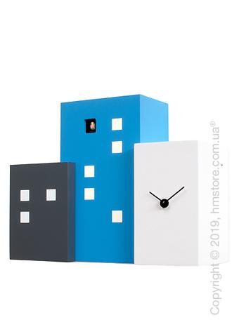 Часы настенные Progetti Walls Cucù Wall Clock, Light Blue
