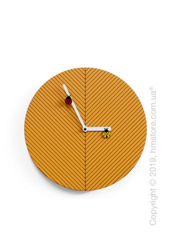 Часы настенные Progetti Time2bugs Wall Clock, Light Orange