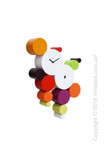 Часы настенные Progetti Cucuball Wall Clock, Warm Colour