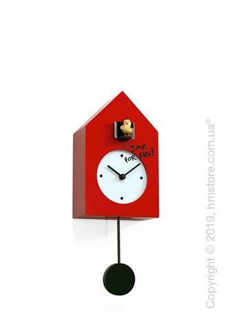Часы настенные Progetti Freebird Punk Wall Clock, Red