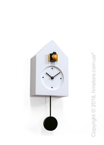 Часы настенные Progetti Freebird Badass Wall Clock, White