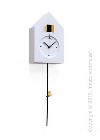 Часы настенные Progetti Freebird Tarzan Wall Clock, White