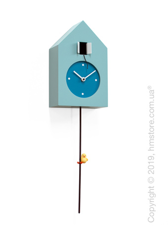 Часы настенные Progetti Freebird Tarzan Wall Clock, Light Blue