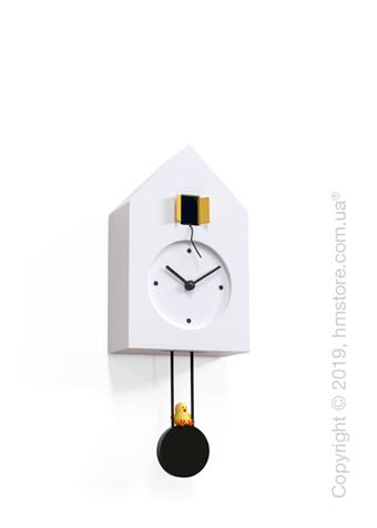 Часы настенные Progetti Freebird Wall Clock, White