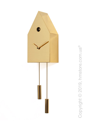 Часы настенные Progetti 24k Wall Clock, Gold