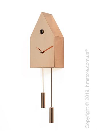 Часы настенные Progetti 24k Wall Clock, Copper