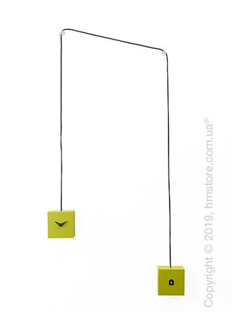 Часы настенные Progetti TuTu Wall Clock, Green