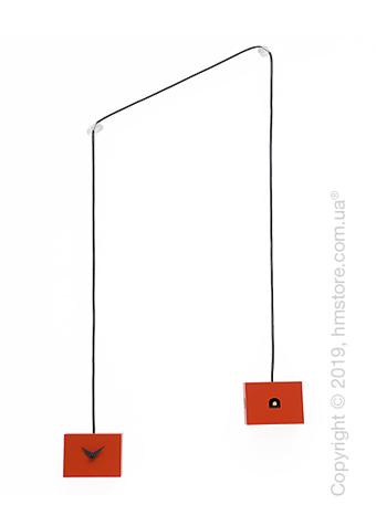 Часы настенные Progetti TuTu Wall Clock, Red