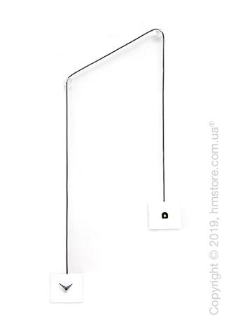 Часы настенные Progetti TuTu Wall Clock, White