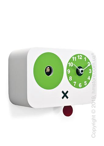 Часы настенные Progetti Cucchino Wall Clock, White