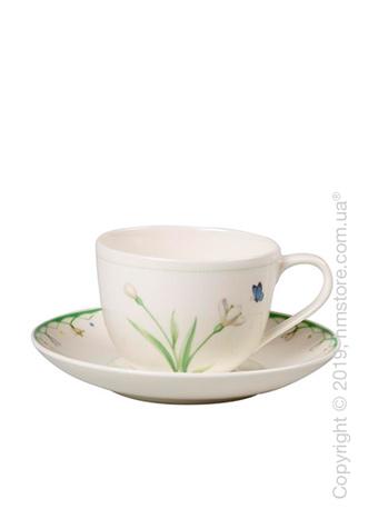 Чашка с блюдцем Villeroy & Boch коллекция Colourful Spring, 230 мл
