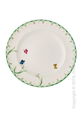 Тарелка столовая мелкая Villeroy & Boch коллекция Colourful Spring, 27 см