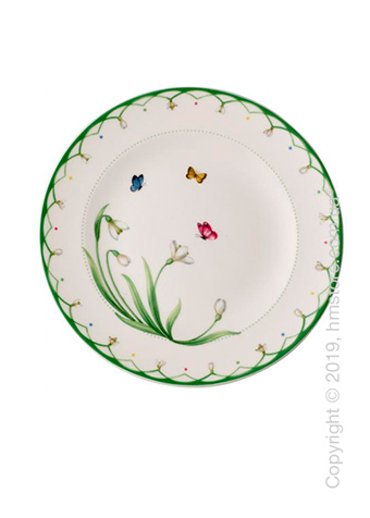 Тарелка десертная мелкая Villeroy & Boch коллекция  Colourful Spring, 22 см